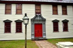 Deerfield, le Massachusetts : Dwight House 1730 Image libre de droits