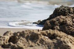 Deerfield plaża Fotografia Royalty Free