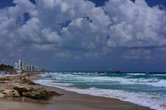 Deerfield strand Florida Arkivbilder