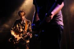 Deerhunter (band from Atlanta), performs at Apolo Royalty Free Stock Photo