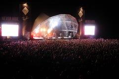 Deerhunter band performs at Heineken Primavera Sound 2013 Festival Stock Photo