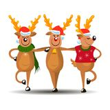 Deers χορού Στοκ Φωτογραφίες