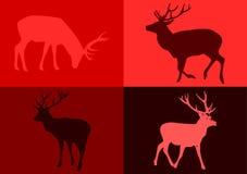 deers popart Στοκ φωτογραφία με δικαίωμα ελεύθερης χρήσης
