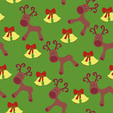 Deers seamless pattern Royalty Free Stock Images