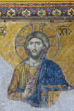 The Deesis mosaic Stock Images