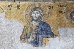 The Deesis mosaic, Hagia Sophia Royalty Free Stock Image