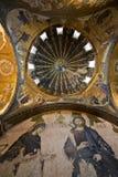 Deesis Mosaik und die inneren Narthex Mosaiken Stockfoto