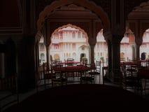 Deewan-e-khas, palacio de la ciudad, Jaipur foto de archivo libre de regalías