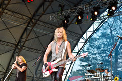 Def Leppard In Concert Stock Photography