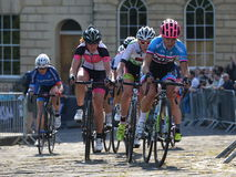 Def. van parelizumi tour series bicycle race in Bad Engeland Royalty-vrije Stock Afbeelding