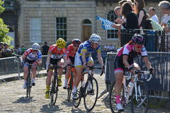 Def. van parelizumi tour series bicycle race in Bad Engeland Royalty-vrije Stock Foto's