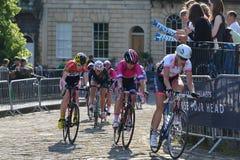 Def. van parelizumi tour series bicycle race in Bad Engeland Royalty-vrije Stock Afbeeldingen