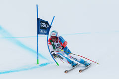 DEFAGO Didier (SUI). Alta Badia, ITALY 22 December 2013. MILLER Bode (USA) competing in the Audi FIS Alpine Skiing World Cup MEN'S GIANT SLALOM Stock Photos