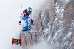 DEFAGO Didier (SUI). VAL GARDENA - GROEDEN, ITALY 21 December 2013. DEFAGO Didier (SUI) competing in the Audi FIS Alpine Skiing World Cup MEN'S DOWNHILL on the Royalty Free Stock Photography