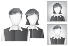 Default avatar Stock Photography