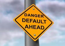 Default danger sign Stock Photos