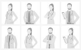 Free Default Placeholder Doctor Half-length Portrait Royalty Free Stock Photography - 113903037