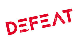 Defeat rubber stamp Royalty Free Stock Photography