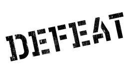 Defeat stamp rubber grunge Royalty Free Stock Photo