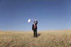 Defeated businessman Royalty Free Stock Photos