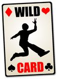 Personal wild card stock illustration