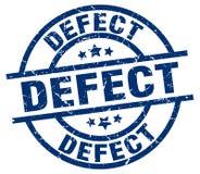 Defect stamp. Defect grunge vintage stamp isolated on white background. defect. sign royalty free illustration