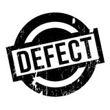 Defect rubber stamp Royalty Free Stock Images