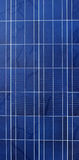 Defect solar panel Stock Photo