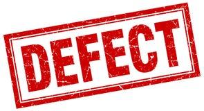 Defect stamp. Defect square grunge stamp. defect sign. defect royalty free illustration