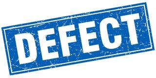 Defect stamp. Defect square grunge stamp. defect sign. defect stock illustration