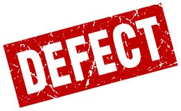 Defect stamp. Defect grunge vintage stamp isolated on white background. defect. sign vector illustration