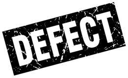 Defect stamp. Defect grunge vintage stamp isolated on white background. defect. sign stock illustration