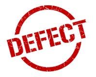 Defect stamp. Defect round grunge stamp. defect sign. defect royalty free illustration