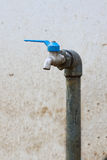 Defective faucet, Faucet control water flow by Open and close function by user Stock Photography