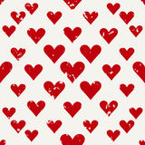 Defective old hearts seamless pattern background for use in design for valentines day or wedding Stock Photography