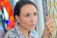 Defekt på exponeringsglas Royaltyfri Fotografi