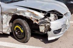 Defekte Autonahaufnahme Lizenzfreie Stockbilder
