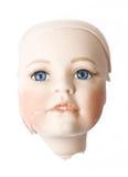 Defekte Dolly Face und Glieder Stockbild