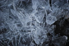 Defekte Eiskristalle Lizenzfreie Stockfotografie