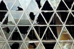 Defekte Fassade Lizenzfreie Stockbilder