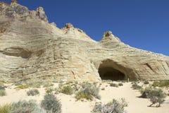 Defekte Pfeil-Höhle Lizenzfreies Stockfoto