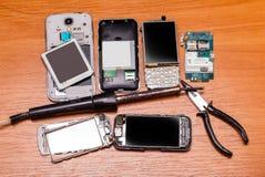Defekte Telefone Lizenzfreie Stockbilder