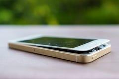 Defekter Smartphone Stockfotografie
