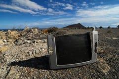Defektes Fernsehen Stockfotografie