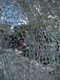 Defektes Glas Stockfoto