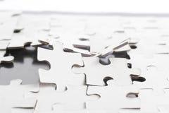 Defektes Puzzlespiel Stockbild