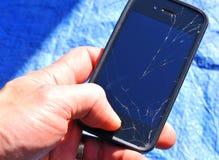 Defektes Telefon Lizenzfreie Stockfotos