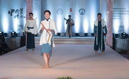 Defemte serierna av kinesiskt musikaliskt instrument-mode visar Royaltyfria Bilder