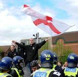 defence angielski liga protest Zdjęcie Stock