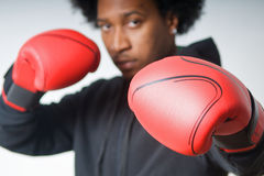 Defence boxing Stock Image